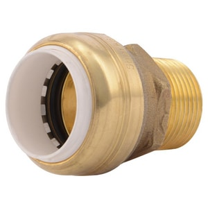 Sharkbite PVC x MNPT Brass Adapter SUIP1