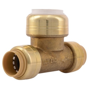 Sharkbite CTS x PVC Brass Straight Transition Fitting SUIP3