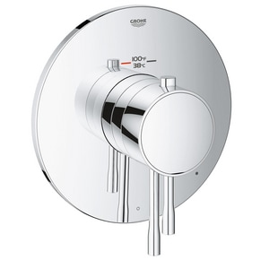 Grohe GrohFlex™ Thermostatic Trim with Control Module and Double Lever Handle G19987