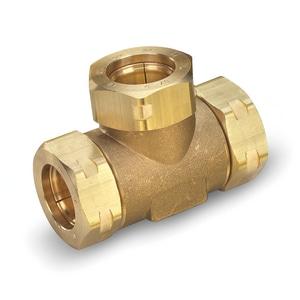Flashshield™ Brass Tee Fitting (6 Pack) TXR3T86