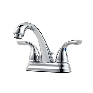 Pfister Pfirst Series™ 1.2 gpm 3-Hole Centerset Bath Faucet with Double Lever Handle PJ148700