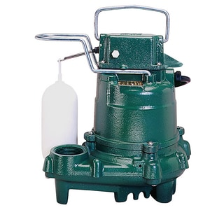Zoeller 115V 1/3 HP Cast Iron Auto Sump Pump Z570001