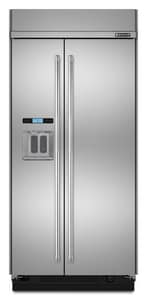 Jennair Built-In Side-by-Side Refrigerator in Pro Style Stainless JJS42PPDUDE