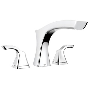 Delta Faucet Tesla® 18 gpm 3-Hole Roman Tub Trim with Double Lever Handle (Trim Only) DT2752
