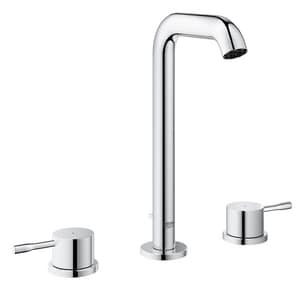 Grohe 3-Hole Widespread Lavatory Faucet with Double Lever Handle and 4-1/2 in. Spout Reach G20431