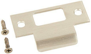 Kwikset Strike Plate in Satin Nickel K83028015