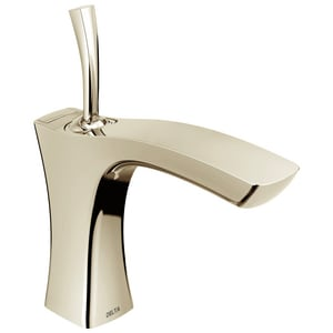 Delta Faucet Tesla® 1 or 3-Hole Centerset Lavatory Faucet with Single-Handle and 4-11/16 in. Spout Height in Brilliance Polished Nickel D552LFPNMPU