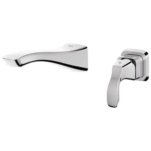 Delta Faucet Tesla® 2-Hole Lavatory Faucet Trim with Single Lever Handle DT552LFWL