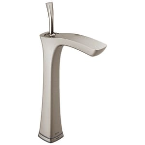 Delta Faucet Tesla® 13-3/8 in. 1.2 gpm 1-Hole Lavatory Faucet with Single-Handle D752TLF