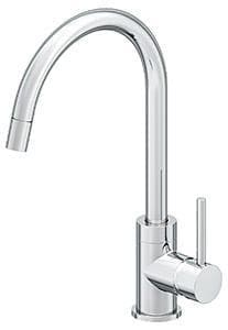 Symmons Industries Dia® 1-Hole Pull-Down Kitchen Faucet with Single Lever Handle SYMSPP351015