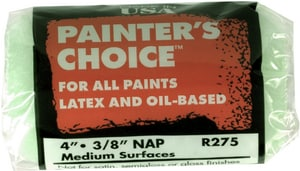 Wooster Painter's Choice™ 4 in. Roller Cover with 3/8 in Nap in Mint Green WR2754