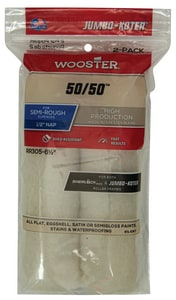 Wooster 50/50™ 6-1/2 in. Mini Roller Cover 2 Pack WRR305612