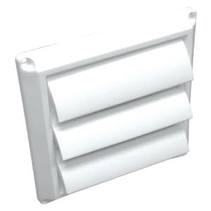 Lambro Industries 4 in. Louvered Hood Face Only L1423
