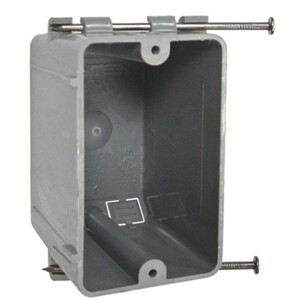 Raco Non-Metallic Box with Captive Nail R7302RAC