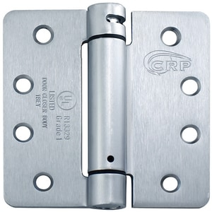 Cal-Royal 4 in. Full Mortise Round Corner Spring Hinge CNEWSH4458R