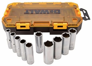 DEWALT 10-Piece Driver Deep Socket Set BDWMT73814
