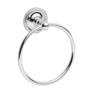 Ginger USA Canterbury Towel Ring in Polished Chrome G1505PC