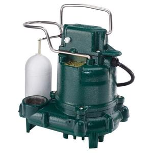 Zoeller 115V 3/10 HP Cast Iron Auto Effluent Submersible Pump M5 Z530001 at Pollardwater