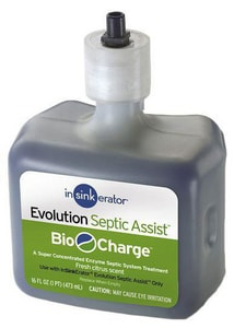 InSinkErator® Bio-Charge® Cartridge Replacement for Evolution Septic Assist Disposers IBIOCG