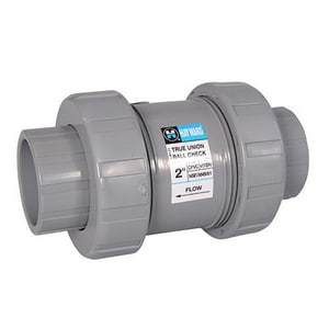 Hayward Industrial Products PVC Union Ball Check Valve HTC10STE