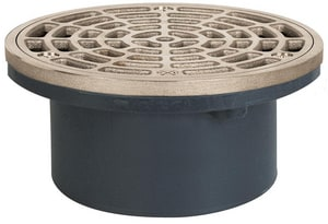 Sioux Chief Finish Line™ PVC Drain with Grate & Ring S8432PNR