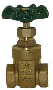 Hammond Valve 200# Bronze Threaded Gate Valve H667