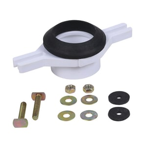 Oatey 2 in. PVC Horizontal Adjustable Urinal Flange Kit O43541