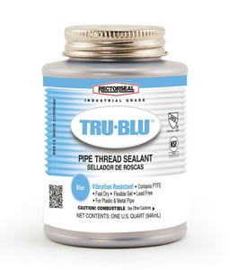 Rectorseal Tru-Blu™ PTFE Thread Sealant in Blue REC31300
