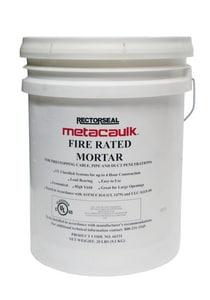 Rectorseal Metacaulk® Fire-Rated Mortar 20 lbs. Pail Mortar REC66331