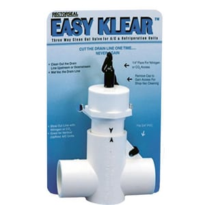 Rectorseal Easy Klear™ 3-Way Clean-Out Valve REC97585