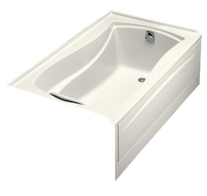 Kohler Mariposa® 60 x 36 in. Left-Hand Drain with Integral Apron Bathtub K1242-R-96