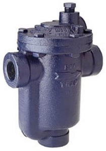 Armstrong International 15 psi Cast Iron Screwed NPT Inverted Bucket Steam Trap A81115