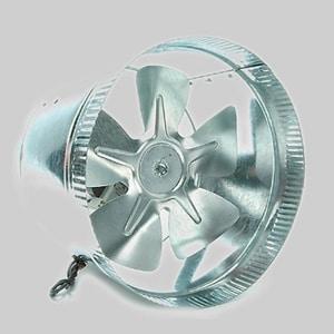 Diversitech 6 in. 240 CFM Booster Fan 120 VAC DIV625AF6