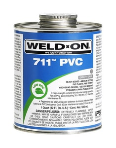 Weld-On PVC Heavy Duty Cement in Grey I10119