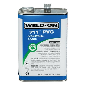 Weld-On PVC Heavy Duty Cement Gray I10117