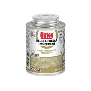 Oatey PVC Regular Clear Cement O31013
