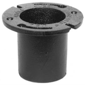 Charlotte Pipe & Foundry 4 x 3 x 3-1/2 in. No-Hub Cast Iron Closet Flange NHCLFLGPMN