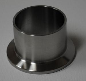 VNE Corporation Butt Weld x OD 316L Stainless Steel Long Ferrule VEG14AM76L