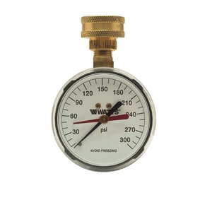 Watts Water Pressure Test Gauge W276H300