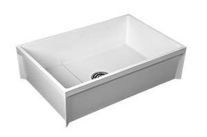 Fiat Products Terrazzo Mop Basin with 3 in. Drain FMSB36243