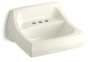 Kohler Kingston™ 3-Hole Wall Mount Bathroom Sink K2005