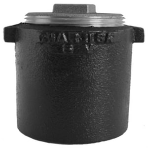 Spigot x FNPT Service Cast Iron IB Clean-Out with Square Cut Plug SVCOS
