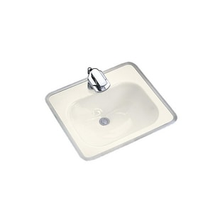 Kohler Tahoe® 3-Hole Drop-In Bathroom Sink with Metal Frame K2890-4