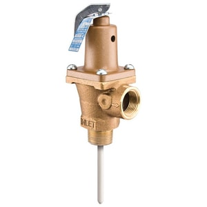Watts 3 x 1 in. Temperature and Pressure Relief Valve W40L210G