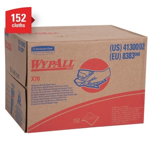 Kimberly Clark WypAll® X70 Brag Wipes K41300
