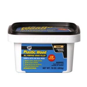DAP 16 oz. Plastic Wood Latex Wood Filler in Natural D00529