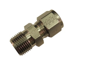 Tylok 1/4 x 1/8 in. MPT Stainless Steel Connector TSS41MC2