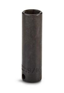 Stanley-Proto 2-3/4 x 9/16 x 3/8 in. 6 pt Socket Deep Drive PJ7718H