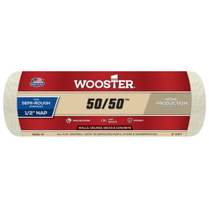 Wooster 50/50™ 1/2 in. Roller Cover WR29