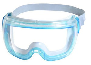 Jackson Safety Revolution™ Safety Goggles with Blue Frame J14399